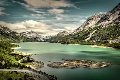 Photograph - Cancano Lake by Roberto Pagani