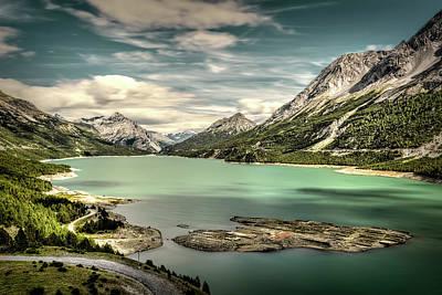 Photograph - Cancano Lake by Roberto Pagani