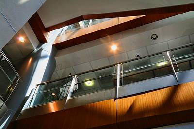 Photograph - Cancer Center Atrium by Kathryn Meyer