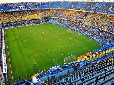 Messi Photograph - Cancha De Boca by Hans Wolfgang Muller Leg
