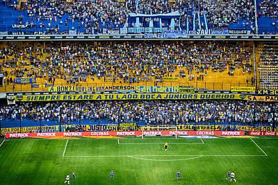 Messi Photograph - Cancha De Boca Juniors by Hans Wolfgang Muller Leg