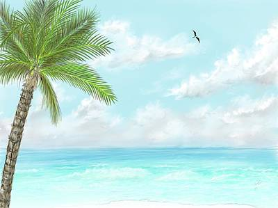 Digital Art - Cancun At Christmas by Darren Cannell