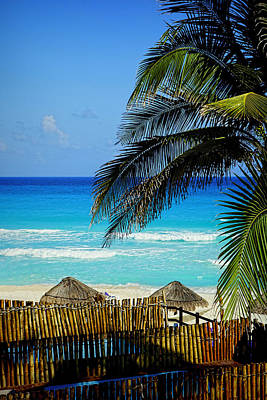 Photograph - Cancun Beach - Photography by Ann Powell