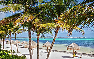 Photograph - Cancun Beach by Tatiana Travelways