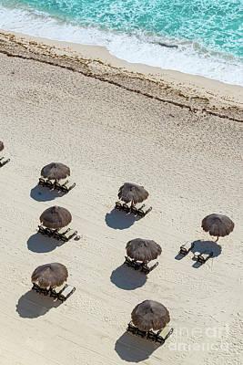 Cancun Beach View Art Print