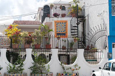 Digital Art - Cancun City Scenes by Carol Ailles