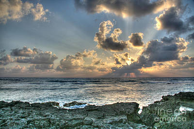 Cancun Photograph - Cancun Sunrise A Morning In Heaven by Wayne Moran