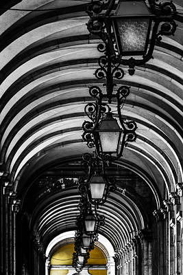 Photograph - Lisbon Lamps by Edgar Laureano