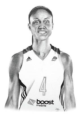 Drawing - Candice Dupree by Devin Millington