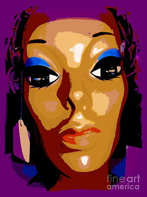 Digital Art - Candice by Ed Weidman