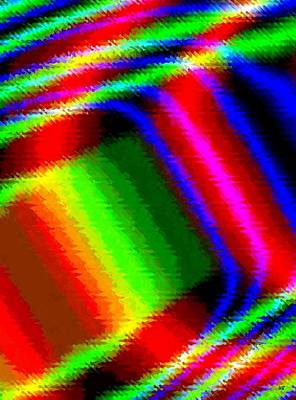Digital Art - Candid Color 15 by Will Borden