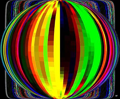 Digital Art - Candid Color 4  by Will Borden