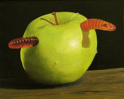 Painting - Candied Apple by Kathy Lumsden