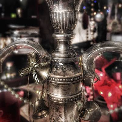 Photograph - Candle Holder With Christmas Decoration  by Dirk Jung