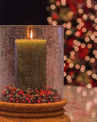 Photograph - Candle In The Lights by Laura Macky
