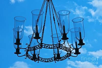 Candle In The Sky Art Print by Hideaki Sakurai