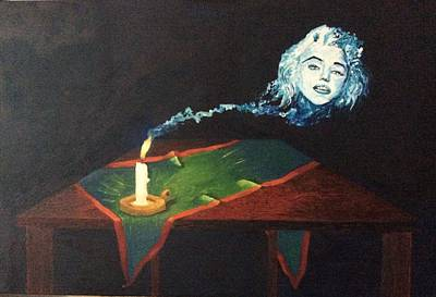 Elton John Painting - Candle In The Wind by Fabio Tedeschi