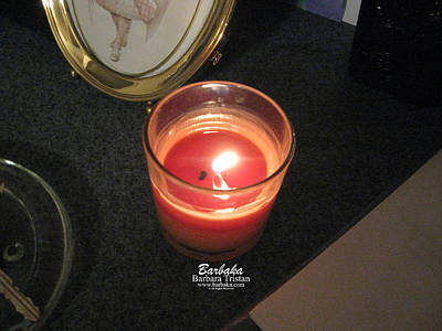 Photograph - Candle Inspired #1173-1 by Barbara Tristan
