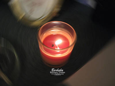 Photograph - Candle Inspired #1173-2 by Barbara Tristan