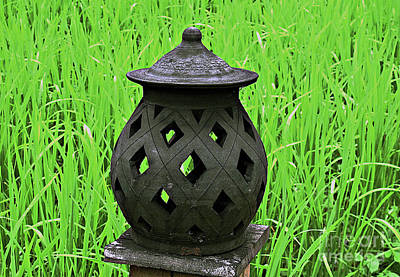 Photograph - Candle Lantern by Ethna Gillespie