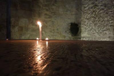 Photograph - Candle Light by Matthew Bamberg