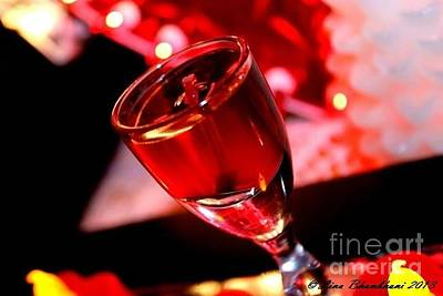 Photograph - Candle Light Red Essence by Forever Young