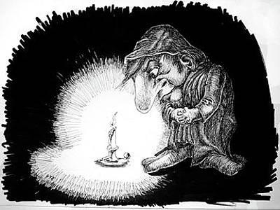 Candlelight Original by Jason Thomas Estes