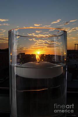 Photograph - Candlelight Sunset by Jennifer White