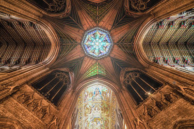 Art Print featuring the photograph Candlemas - Octagon by James Billings