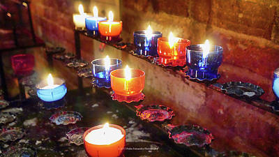 Photograph - Candles by Pedro Fernandez
