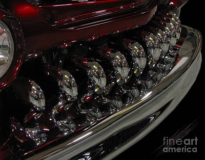 Candy Apple Bullets Print by Peter Piatt