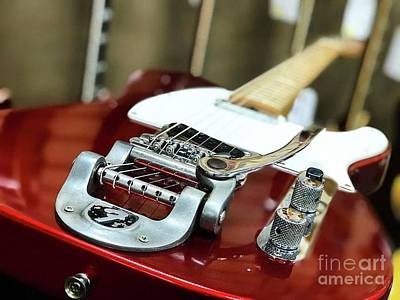 Photograph - Candy Apple Fender by John S