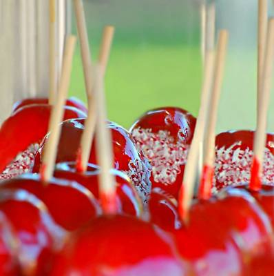 Photograph - Candy Apples by Diana Angstadt