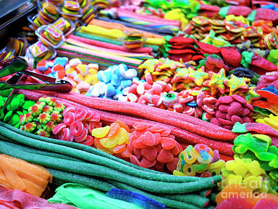 Photograph - Candy At La Boqueria by John Rizzuto