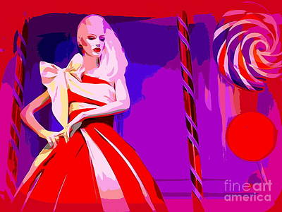 Photograph - Candy Cane Couture by Ed Weidman