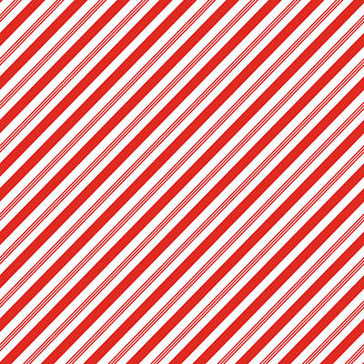 Digital Art - Candy Canes Stripes- Art By Linda Woods by Linda Woods