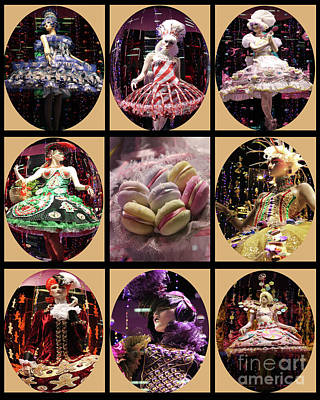 Photograph - Candy Christmas Cameo Collection by Nina Silver
