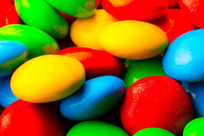 Photograph - Candy Close-up by Steven Green