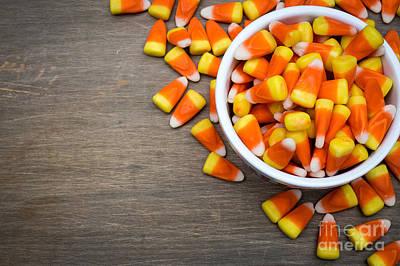 Candy Corn Photograph - Candy Corn by Edward Fielding
