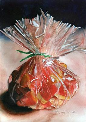 Painting - Candy Corn by Kathy Nesseth