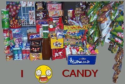 Digital Art - Candy by David and Lynn Keller