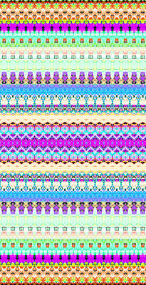 Candy Digital Art - Candy Glitch by Robyn Parker