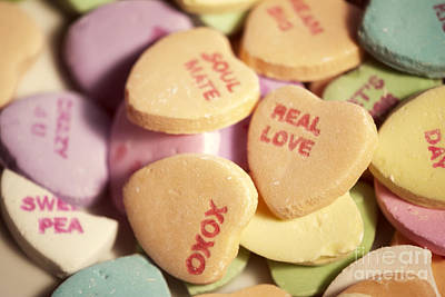 Photograph - Candy Hearts by Juli Scalzi