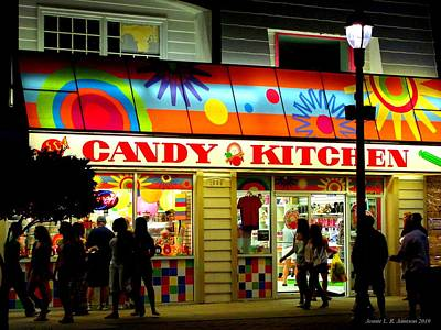 Photograph - Candy Kitchen by Jennie  Richards