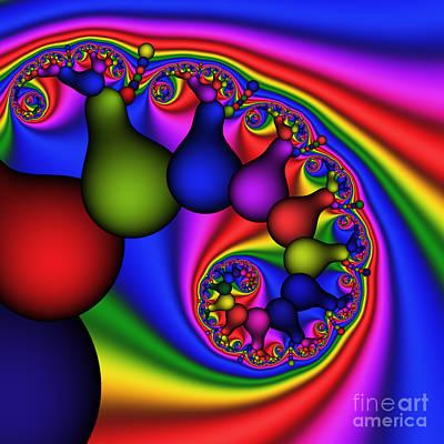 Candy Light Bulbs 170 Art Print by Rolf Bertram