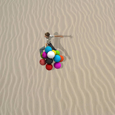 Minimal Wall Art - Photograph - Candy Sand by Caterina Theoharidou