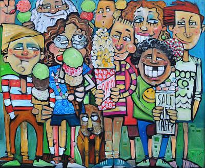 Candy Store Kids Art Print by Tim Nyberg