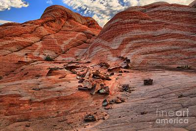 Photograph - Candy Striped Cliffs by Adam Jewell