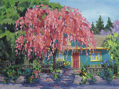 Painting - Candy Tree by Karen Ilari