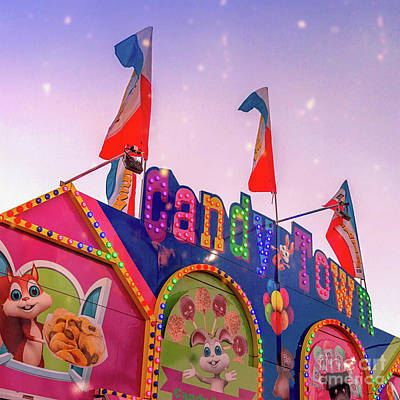 Art Print featuring the photograph Candytown by Cindy Garber Iverson